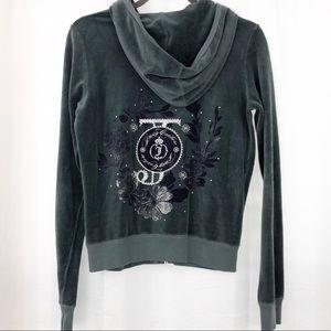 Juicy Couture Velour Track Suit Jacket